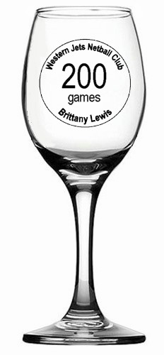 200 GAMES WINE GLASS